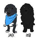 Jack & Zeb  by rmcbuckeye