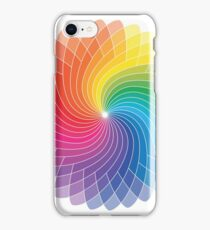 Colour Wheel Flower iPhone Case/Skin