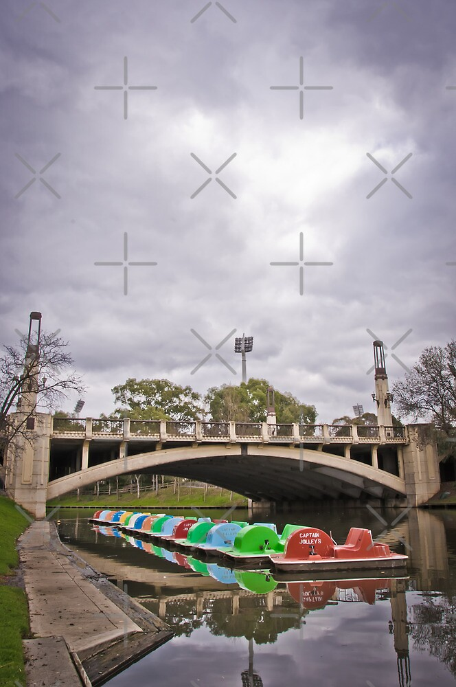Adelaide Bridges - King William Road by Clintpix