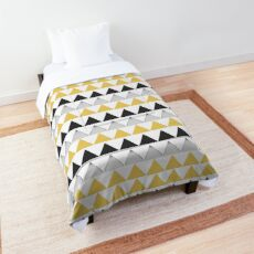 Nordic triangles Comforter