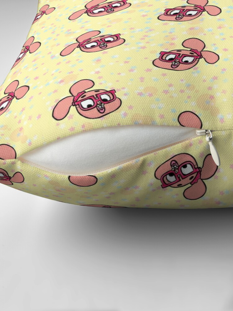 Alternate view of Anais Watterson Pattern - The Amazing World of Gumball Throw Pillow