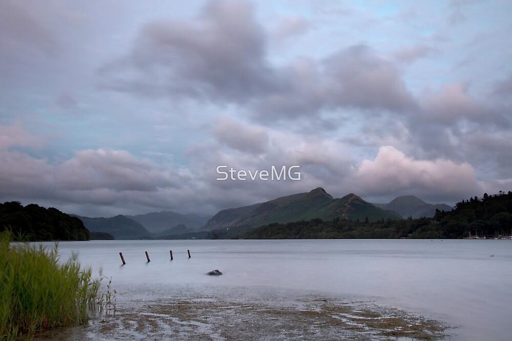 Dawn Over Derwent Water & Catbells by SteveMG