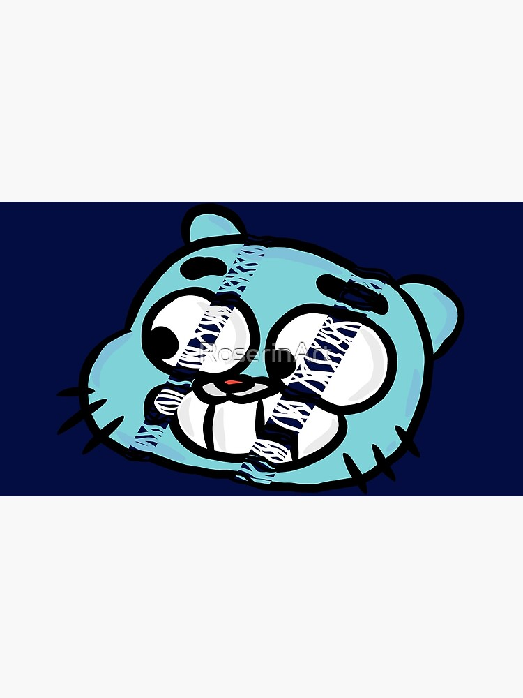 Hang Tight Gumball Watterson by RoserinArt