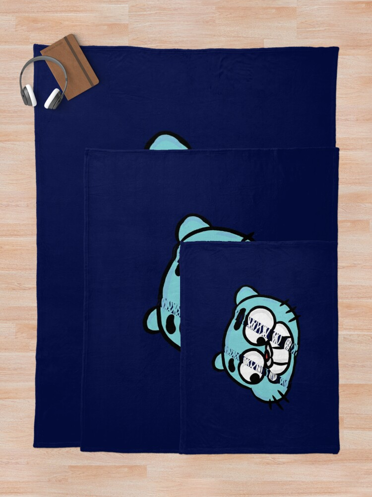 Alternate view of Hang Tight Gumball Watterson Throw Blanket
