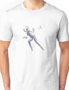 Girl with Raygun Unisex T-Shirt