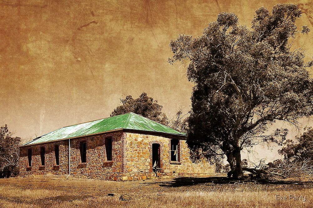 Old Shearers Quarters by Eve Parry