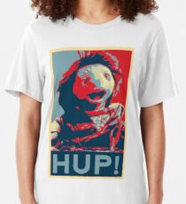 Hup - The Dark Crystal: Age of Resistance - Shepard Fairey Hope Poster Parody Slim Fit T-Shirt