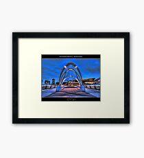 Seafarers Bridge, Melbourne II Framed Print