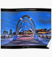 Seafarers Bridge, Melbourne II Poster