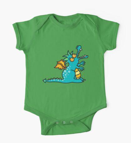 Teal Magic Dragon Kids Clothes