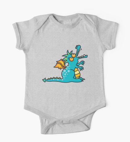Teal Magic Dragon Kids Clothes