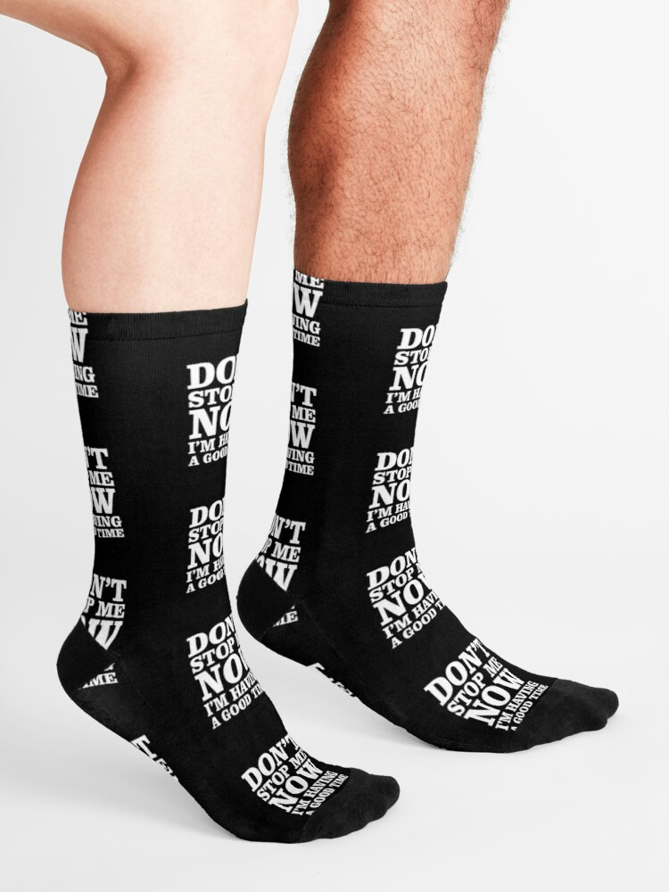 Alternate view of Don't Stop now Socks