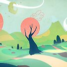*friendly background - soft vector colors* by SenPowell
