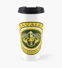 3rd Armored Cavalry Sabers Travel Mug