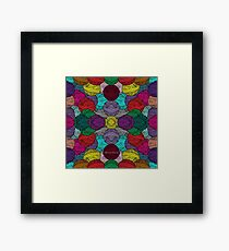 Allover Yarn Framed Print
