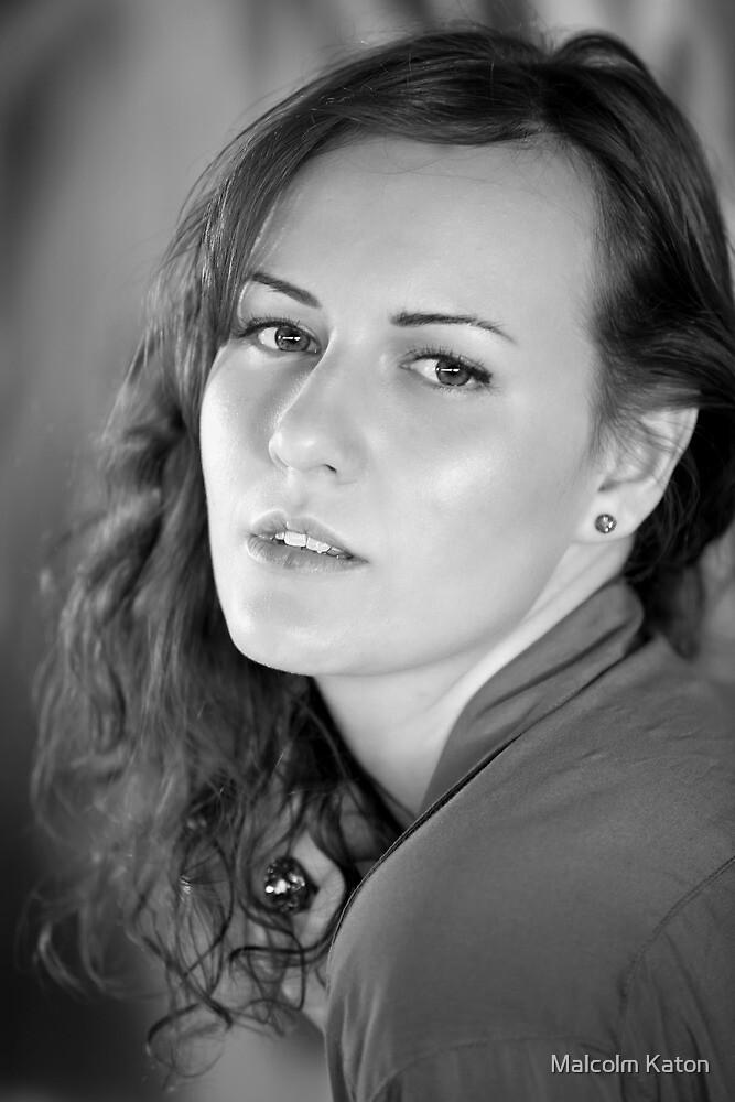 Portrait of Julia by Malcolm Katon