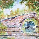 Narrowboat. by Joe Trodden