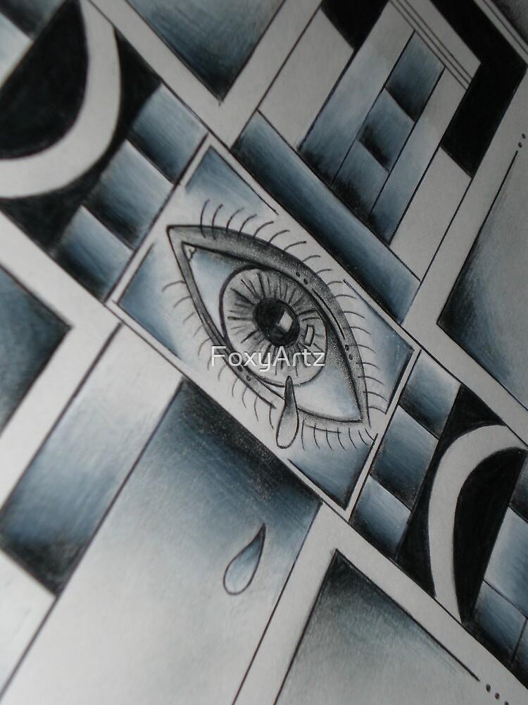 Cross-Eyed by FoxyArtz