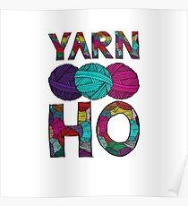 Yarn Ho Poster