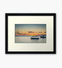 Calm waters around Mauritius Framed Print
