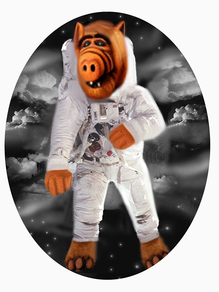 ALF RETURNS FROM PLANET MELMAC TEE SHIRT by Rapture777