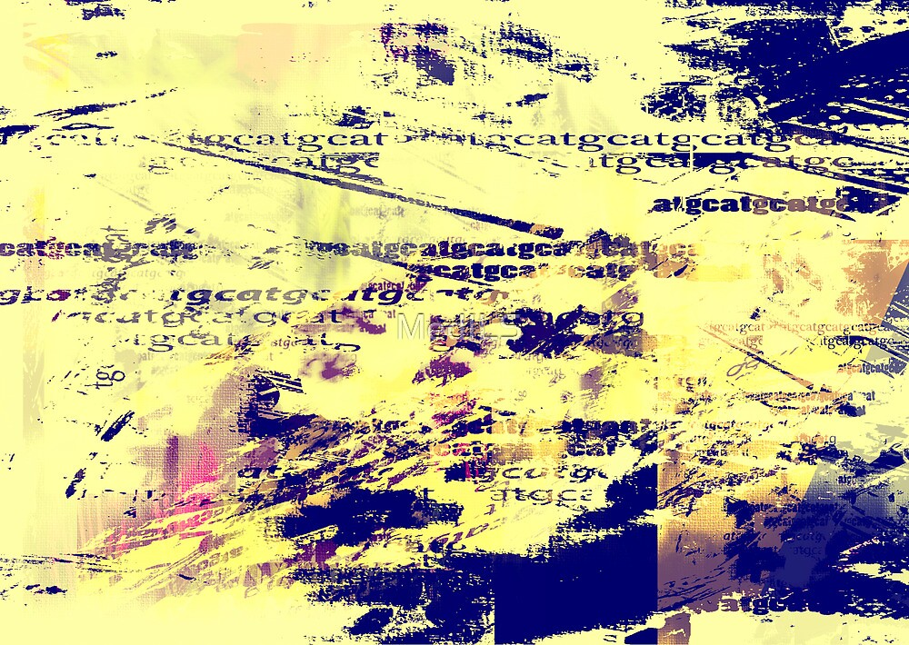 Letters Puzzle Abstract by MedILS
