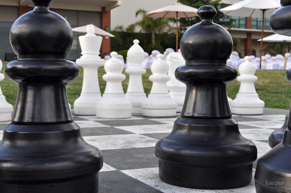 Giant Chess by liarose