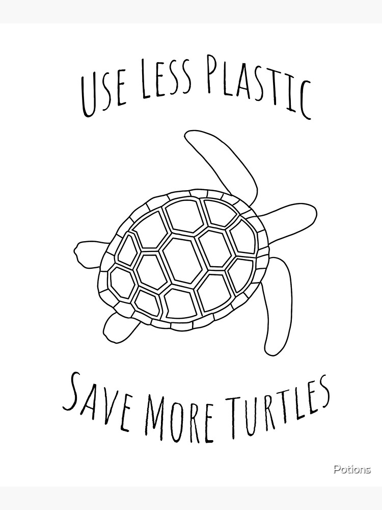 Save the Turtles - Large by Potions
