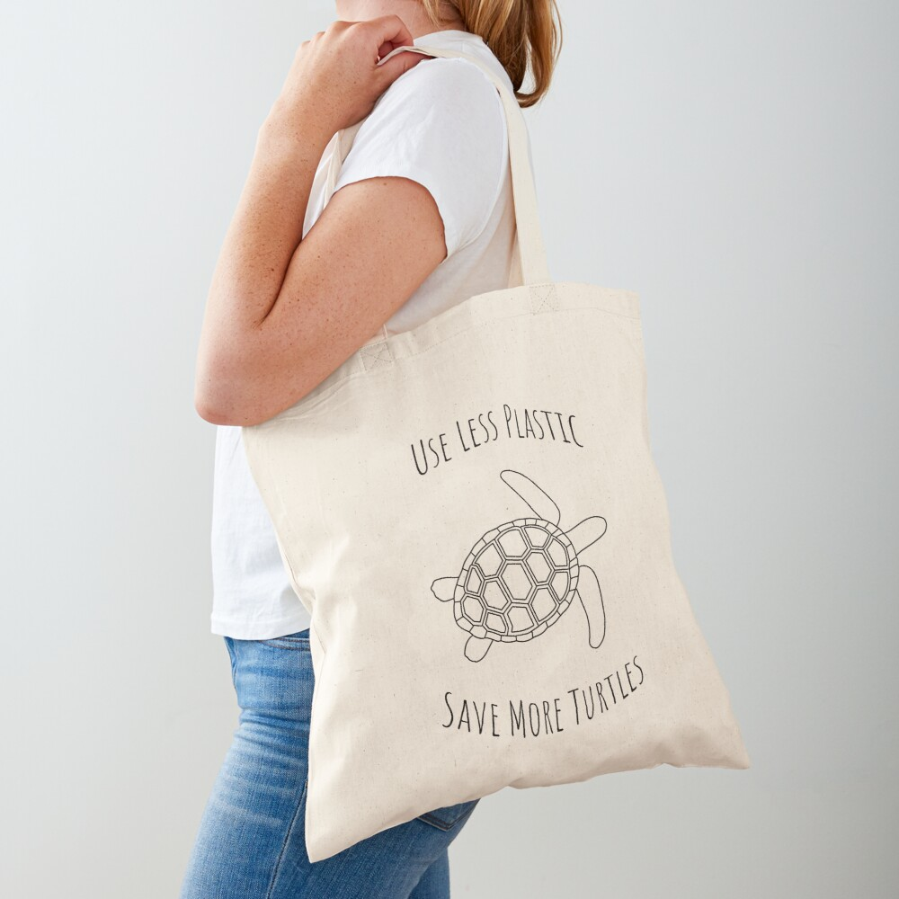 Save the Turtles - Large Tote Bag