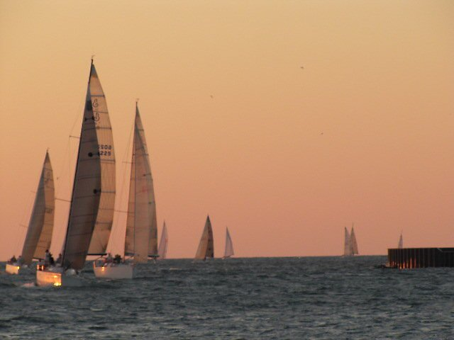 Sailing sunset 3 by music101