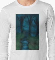 Moonlight Forest Long Sleeve T-Shirt