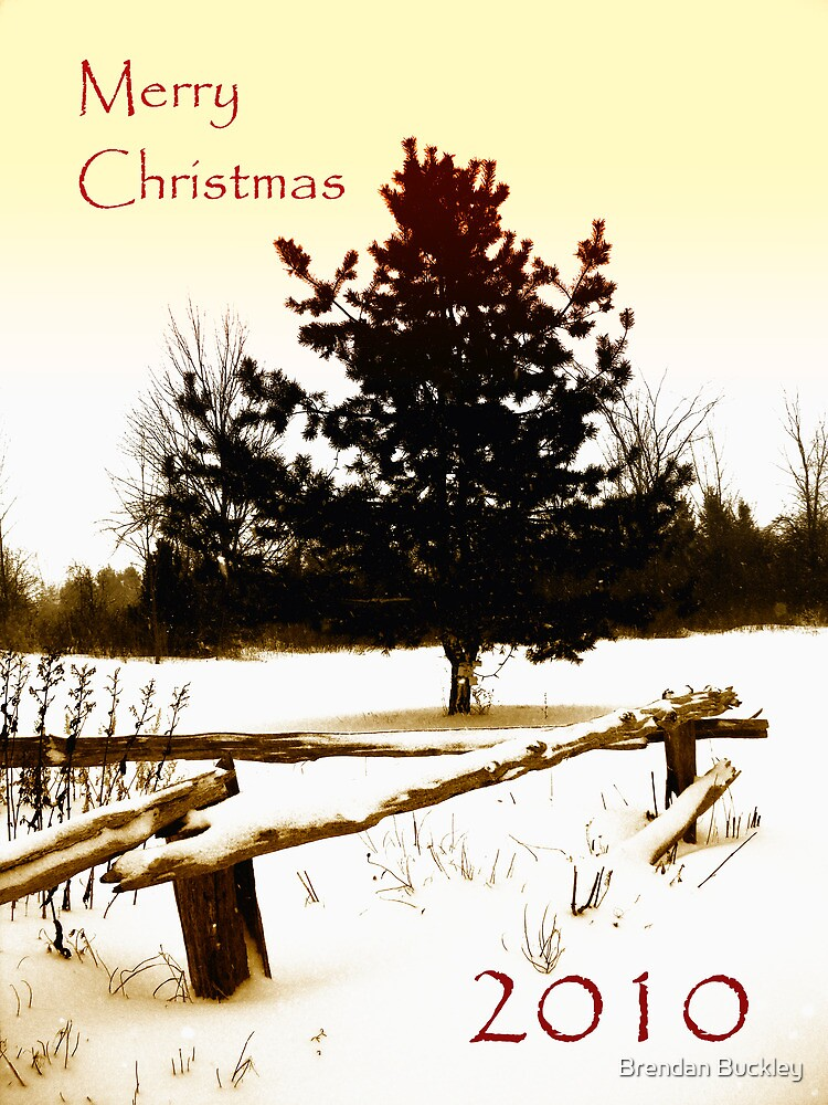 Merry Christmas 2010 by Brendan Buckley