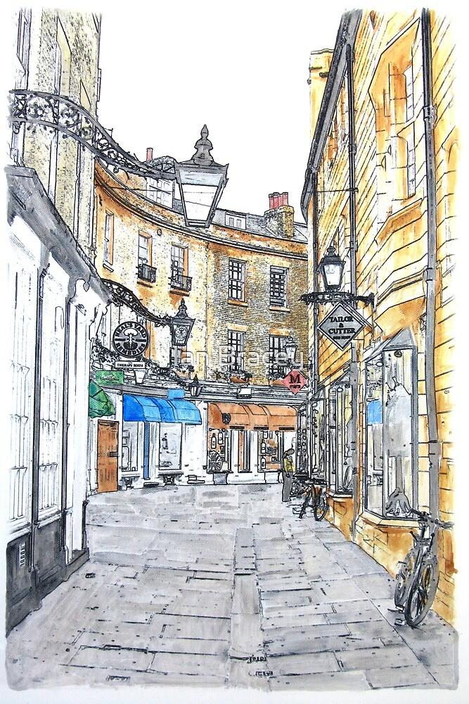 Rose Crescent, Cambridge by Ian Bracey