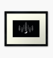 Fantastic Wolf Framed Print