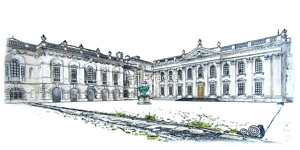 The Senate House in Snow, Cambridge by Ian Bracey