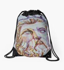 Neptune - From Neptune's Fountain, Florence, Italy Drawstring Bag