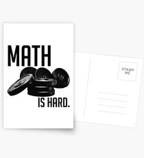 Math is Hard Postcards