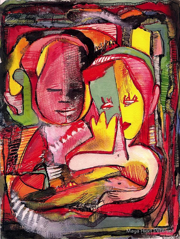 The Couple by Maya Hiort Petersen