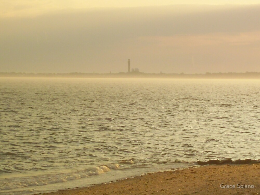Provincetown From Afar by Graciela Maria Solano
