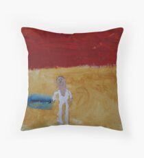 Luke Skywalker, by Mason Throw Pillow