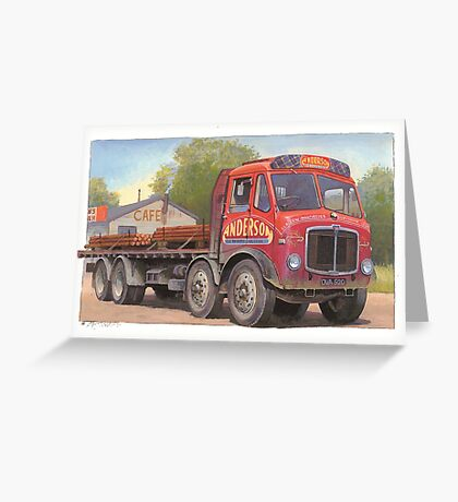 AEC Mammoth Major Tinfront Greeting Card