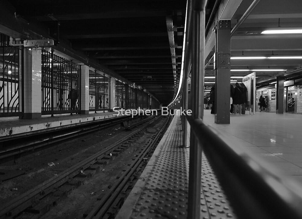 NYC Subway  by Stephen Burke