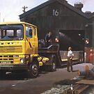 Leyland Marathon lowloader. by Mike Jeffries