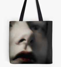 Blood Stained Lips Tote Bag