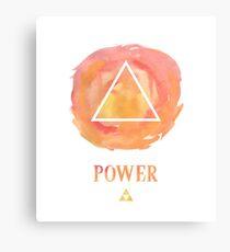 Use Power Canvas Print