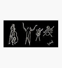 The Jazz Session Photographic Print