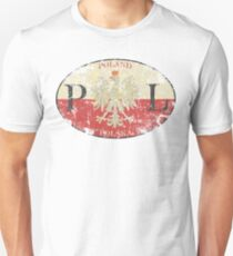 Poland Warsaw t shirt Unisex T-Shirt