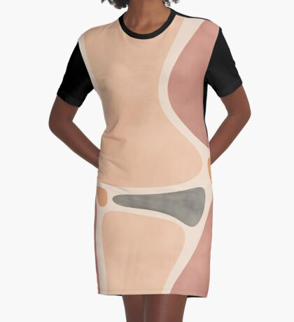 Pottery Shapes #redbubble #abstractart Graphic T-Shirt Dress