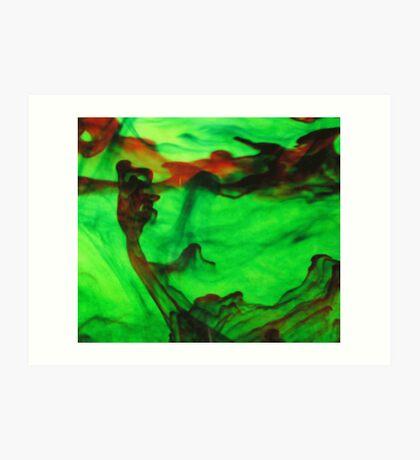 Abstract Grasp Art Print
