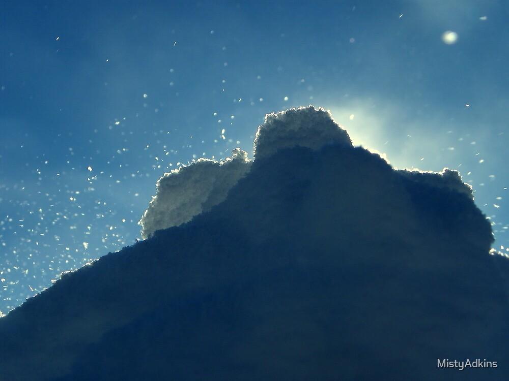 Blowing Snow by MistyAdkins
